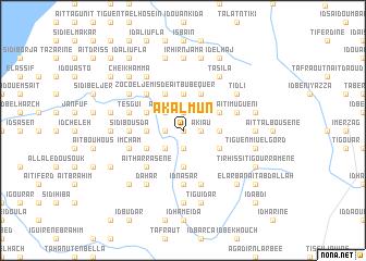 map of Akalmun