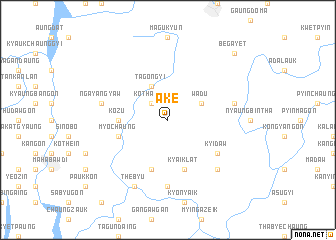 map of Ake