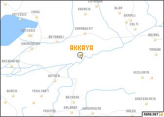 map of Akkaya