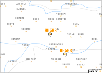 map of Aksar