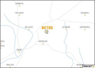 map of Aktaş