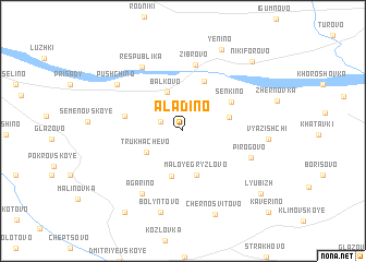map of Alad\