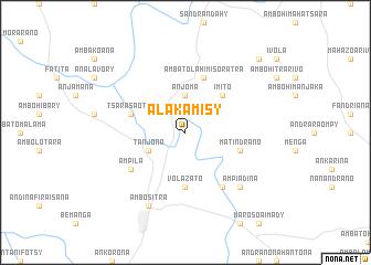 map of Alakamisy