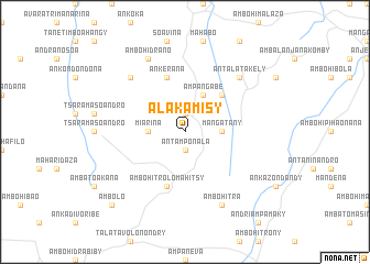 map of Alakamisy