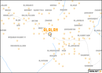 map of Al 'Alam