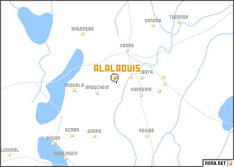 map of Al Alaouis