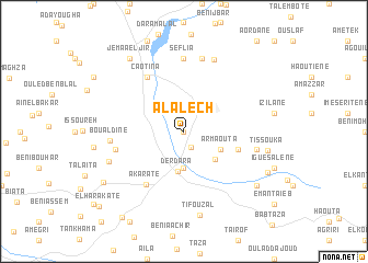 map of Alalech
