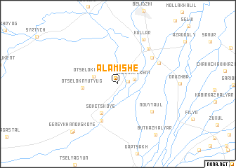 map of Alamishe