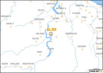 map of Alam