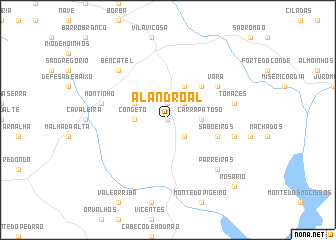 map of Alandroal