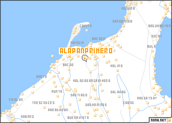 map of Alapan Primero