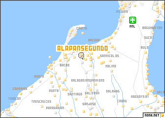 map of Alapan Segundo