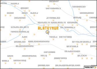 map of Ālāteymūr