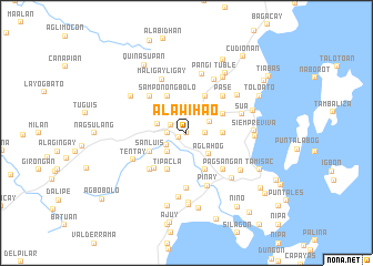 map of Alawihao