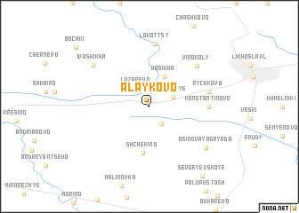 map of Alaykovo