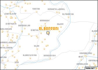map of Al Barrānī