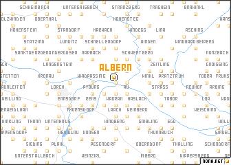 map of Albern