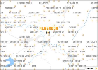 map of Alberoda