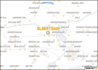 map of Albertshof