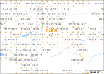 map of Albis
