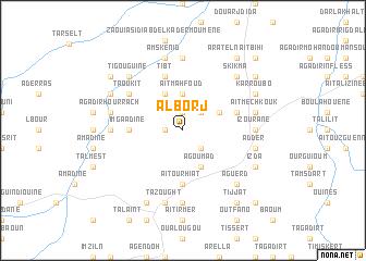 map of Al Borj