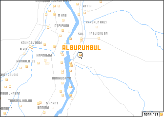 map of Al Burumbul