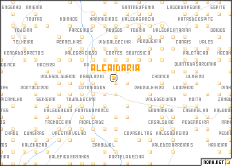 map of Alcaidaria