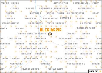 map of Alcaidaria
