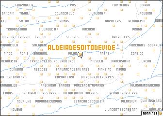 map of Aldeia de Soito de Vide