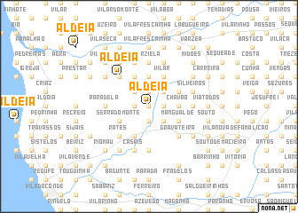 map of Aldeia