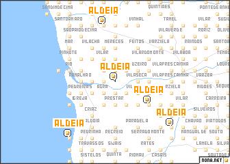 map of Aldeia