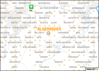 map of Aldenhoven