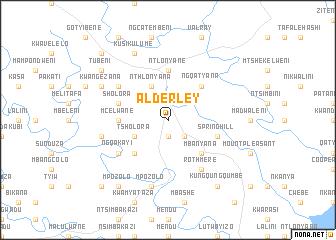 map of Alderley