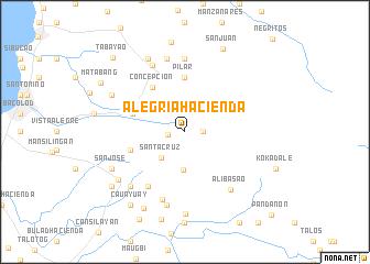 map of Alegria Hacienda