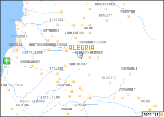 map of Alegria