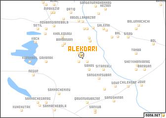map of Alek Dārī