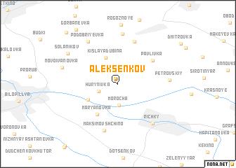 map of Aleksenkov