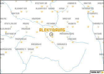 map of Ale Kyidaung
