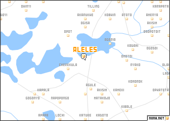 map of Aleles