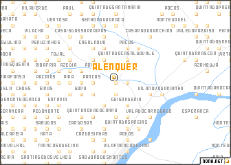 map of Alenquer