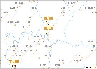 map of Alen