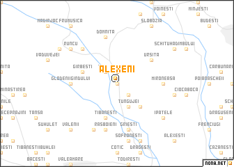 map of Alexeni