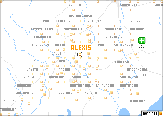 map of Alexis