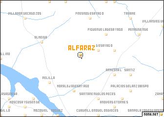 map of Alfaraz