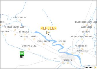 map of Alfocea