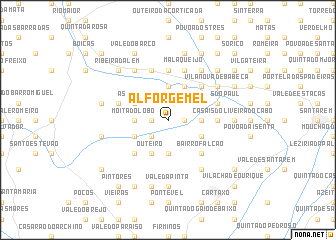 map of Alforgemel