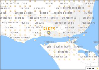 map of Algés