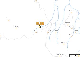 map of Ālgē