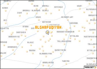 map of Al Ghāfuqīyah