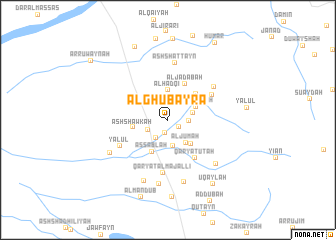 map of Al Ghubayrā'
